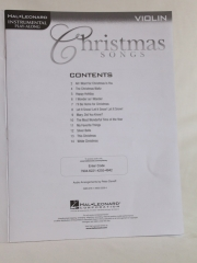 Christmas songs violin_B