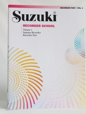 SUZUKI RECORDER SCHOOL VOL1_A